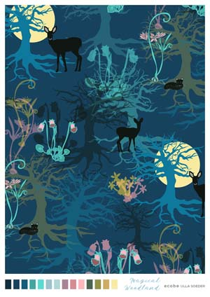 Magical Woodland Pattern