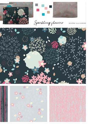 Sparkling Flowers Collection